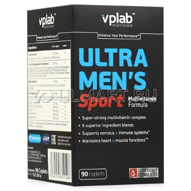 Витамины VPLAB Ultra Mens Sport Multivitamin Formula / 90 капсул