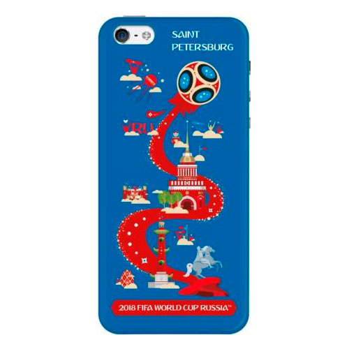 Чехол FIFA Saint Petersburg для Apple iPhone 5 5S SE